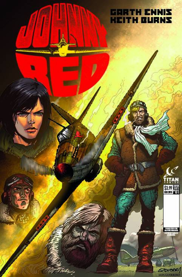 Johnny Red #1 (Subscription Ezquerra Cover)