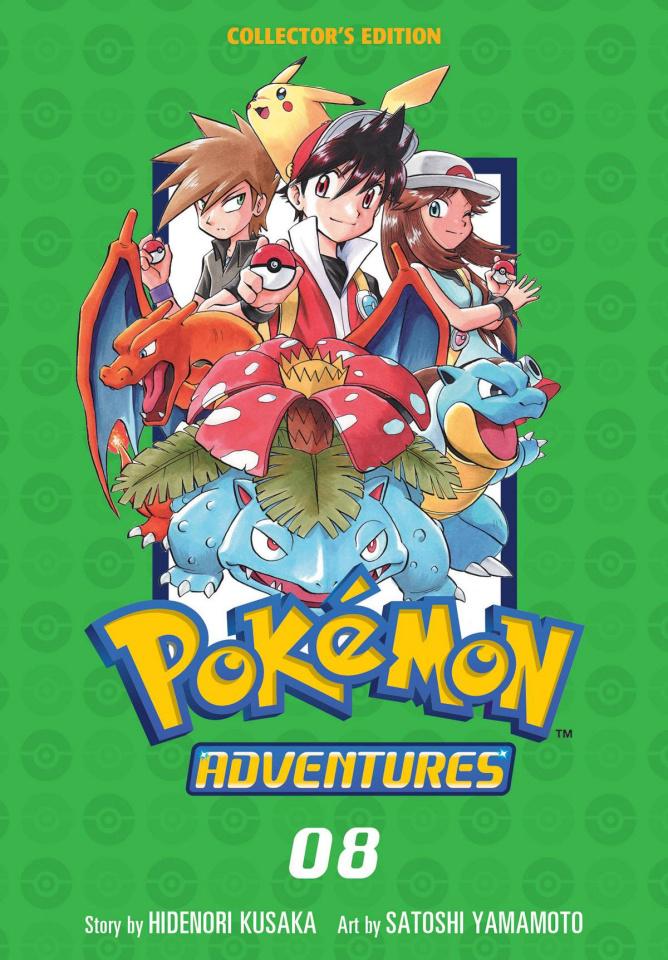 Pokémon Adventures Vol. 8 (Collectors Edition)