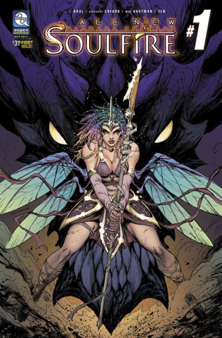 Soulfire #1 (Kirkham Cover)