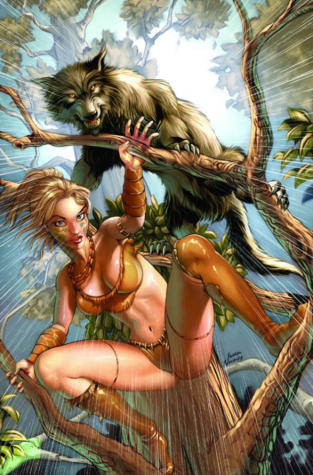 Grimm Fairy Tales: The Jungle Book - Last of the Species #3 (Nunes Cover)