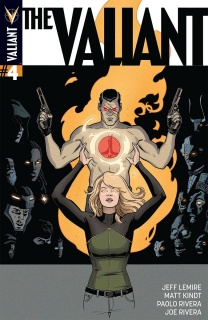 The Valiant #4 (Rivera Cover)