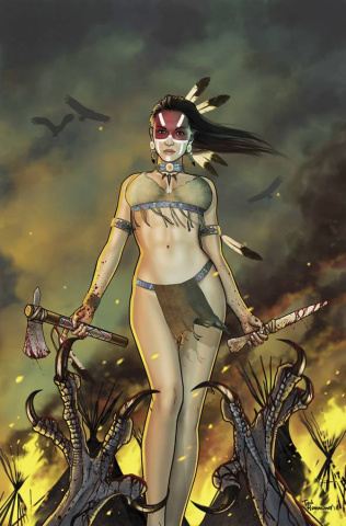 Grimm Fairy Tales: Dark Shaman #3 (Hammond Cover)