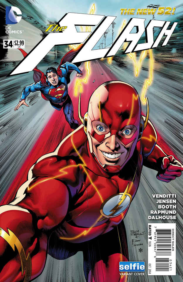 The Flash #34 (Selfie Cover)
