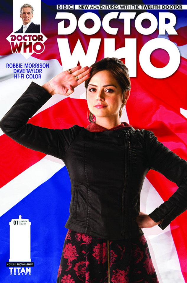Doctor Who: New Adventures with the Twelfth Doctor #1 (25 Copy Clara Cover)