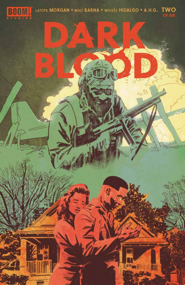 Dark Blood #2 (De Landro Cover)