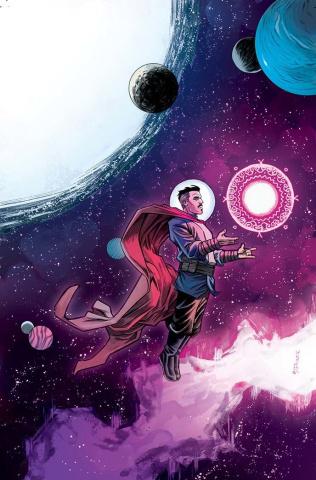 Doctor Strange #2 (Shalvey Cover)