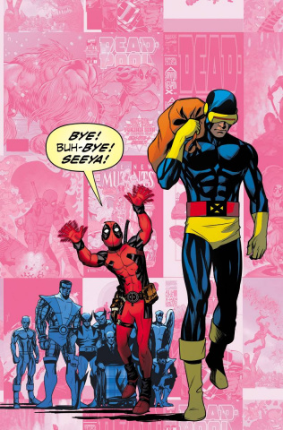 Uncanny X-Men #27 (Deadpool Cover)