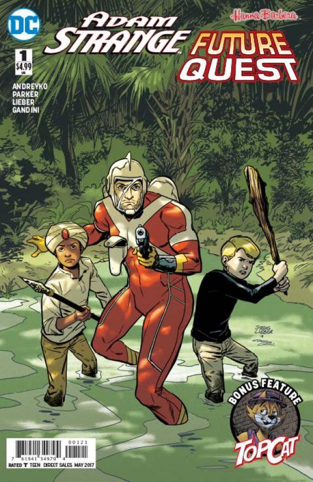Adam Strange / Future Quest Special #1 (Variant Cover)
