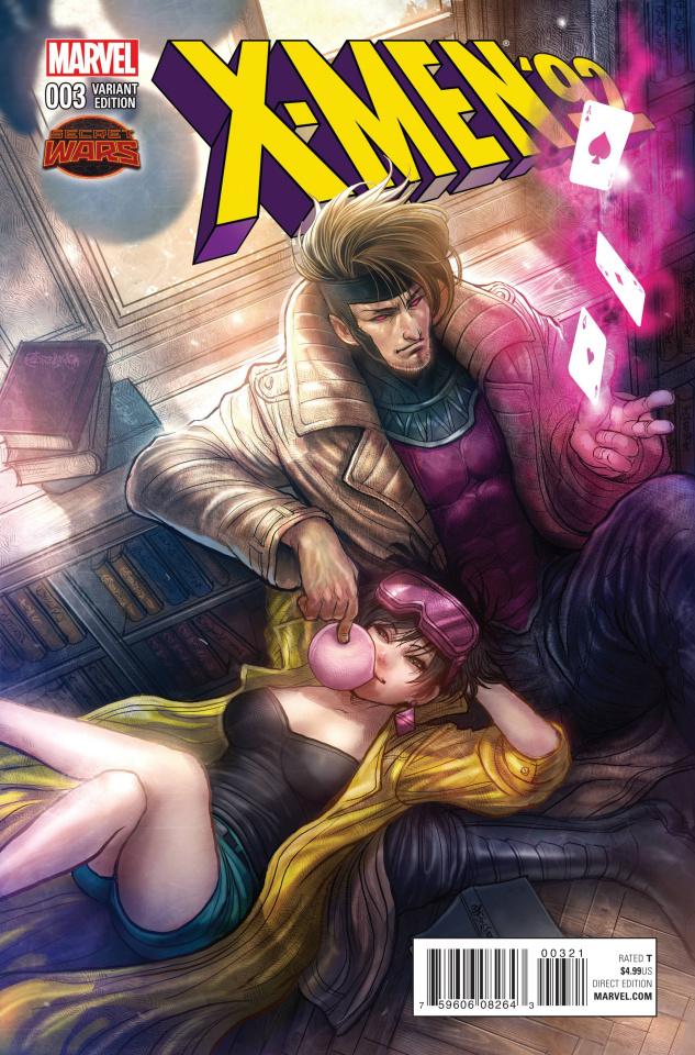 X-Men '92 #3 (Takeda Manga Cover)