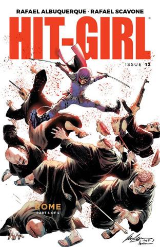 Hit-Girl #12 (Albuquerque Cover)