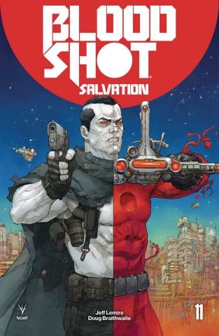 Bloodshot: Salvation #11 (Rocafort Cover)