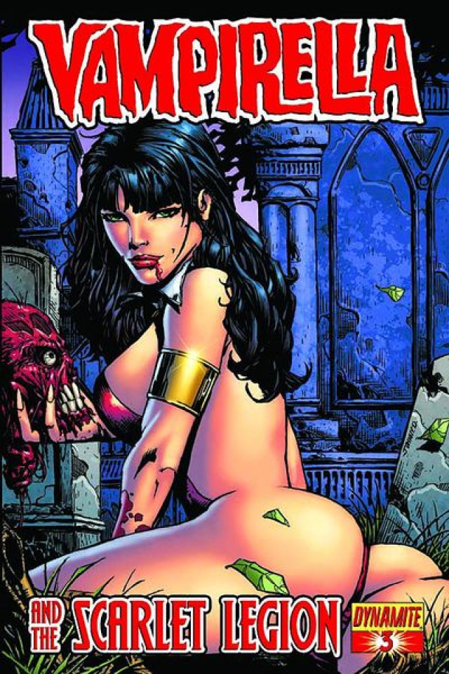 Vampirella and the Scarlet Legion #3