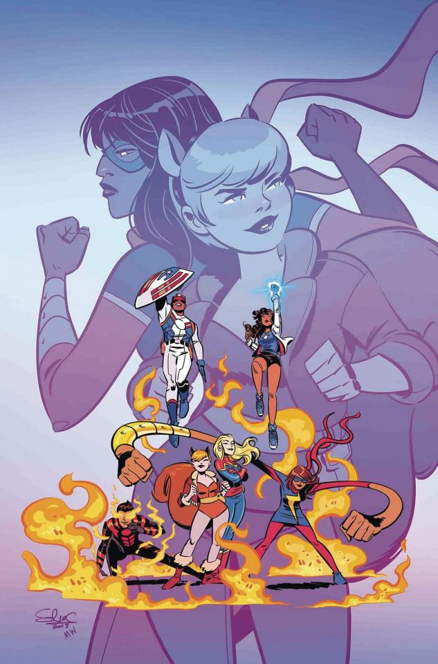 Marvel Rising: Ms. Marvel & Squirrel Girl #1 (Charretier Cover)