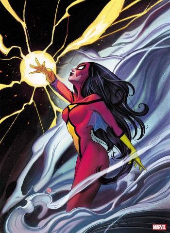 Spider-Woman #5 (Momoko Virgin Cover)