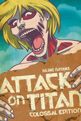 Attack on Titan Vol. 3 (Colossal Edition)