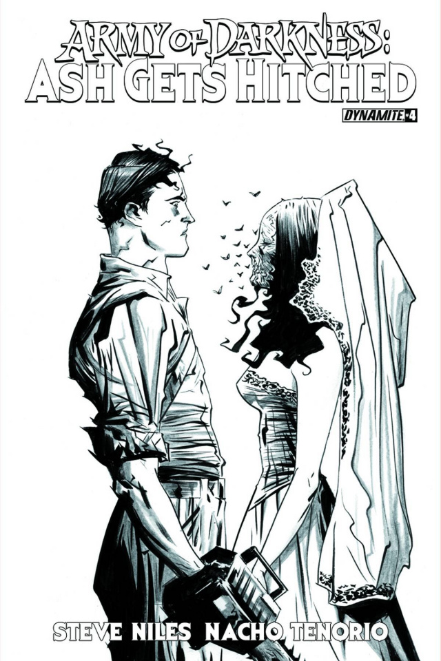 Army of Darkness: Ash Gets Hitched #4 (10 Copy Lee Cover)