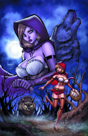 Grimm Fairy Tales: Code Red #1 (Garza Cover)