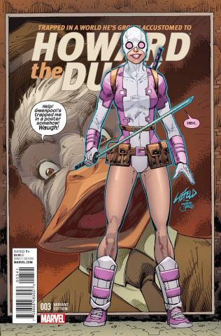 Howard the Duck #3 (Liefeld Gwenpool Cover)