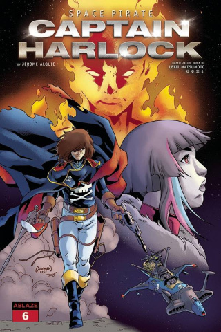 Space Pirate: Captain Harlock #6 (Coleman Cover)