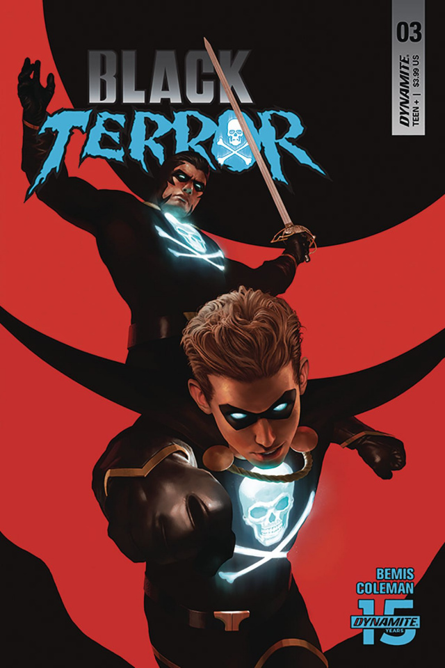 Black Terror #3 (Rahzzah Cover)