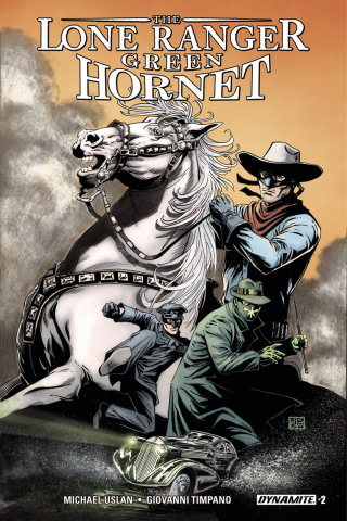 The Lone Ranger / The Green Hornet #2 (Duursema Cover)