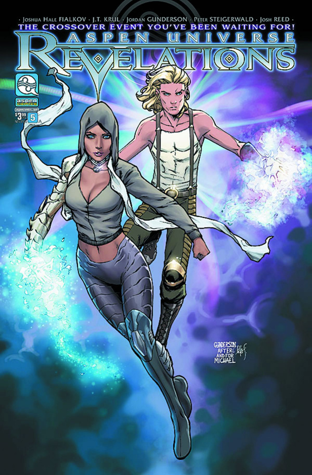Aspen Universe: Revelations #5 (Gunderson Cover)