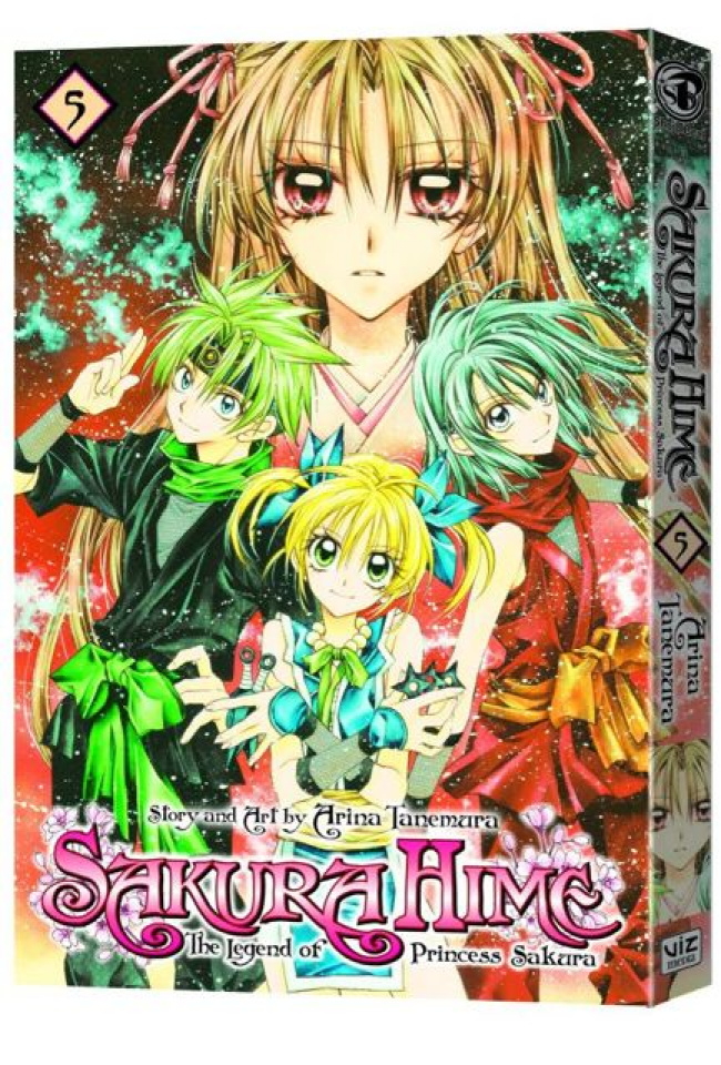 Sakura Hime: The Legend of Princess Sakura Vol. 5