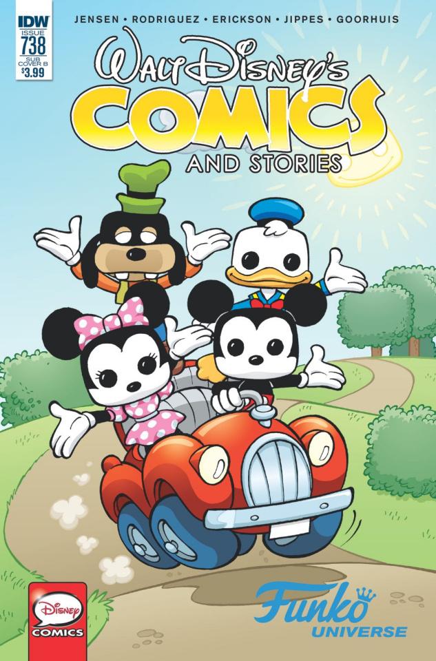 Walt Disney's Comics and Stories #738 (Funko Art Cover)