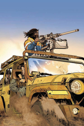 Gung-Ho: Anger #3 (Cian Tormey Cover)