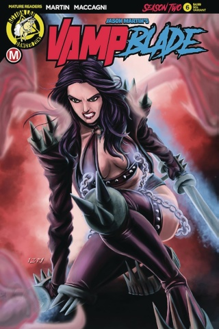 Vampblade, Season Two #6 ('90s Cover)