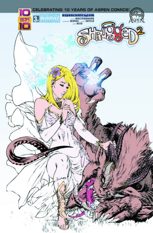 Shrugged #3 (Reserved Cover)