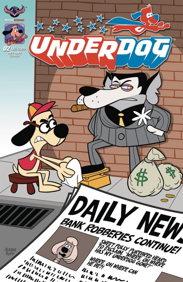 Underdog #2 (Riff Raff Ropp Cover)