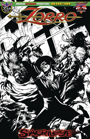 Zorro: Sacrilege #2 (Limited Edition Cover)