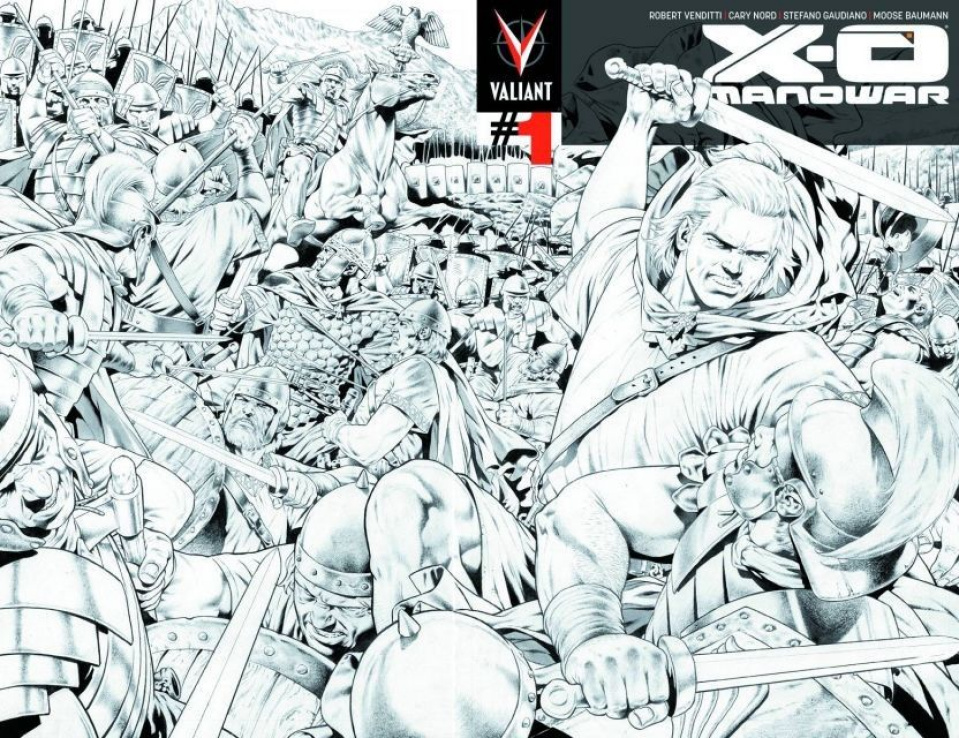 X-O Manowar #1 (4th Printing)