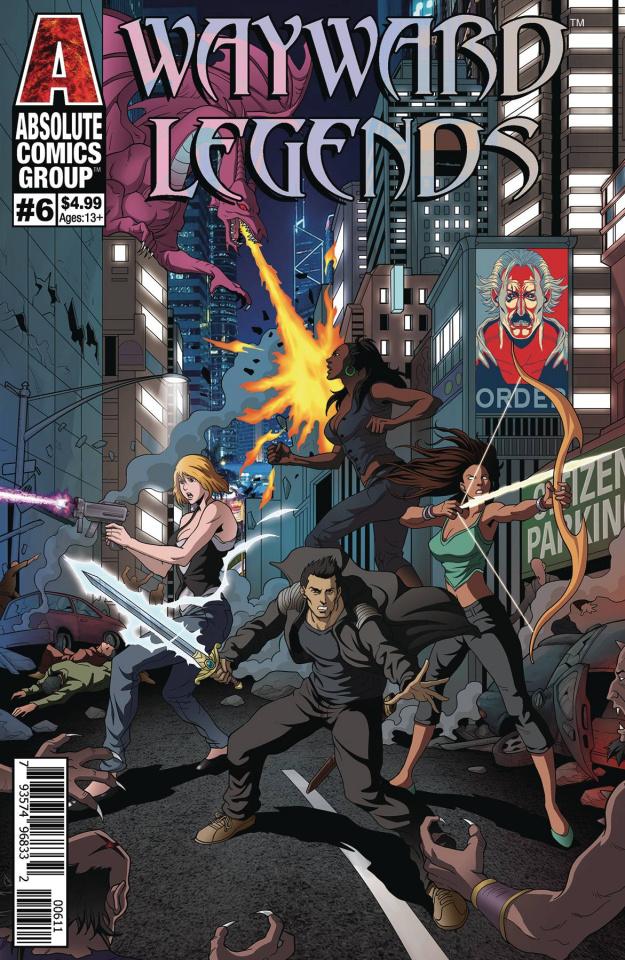 Wayward Legends #6 (Yang Cover)