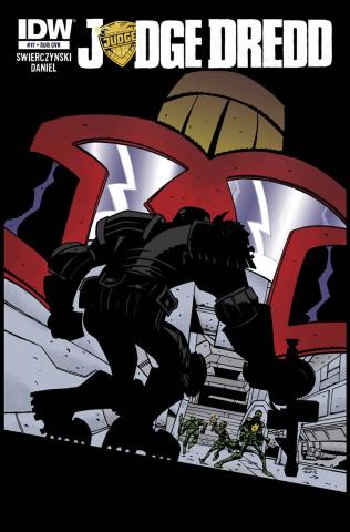 Judge Dredd #17 (Subscription Cover)