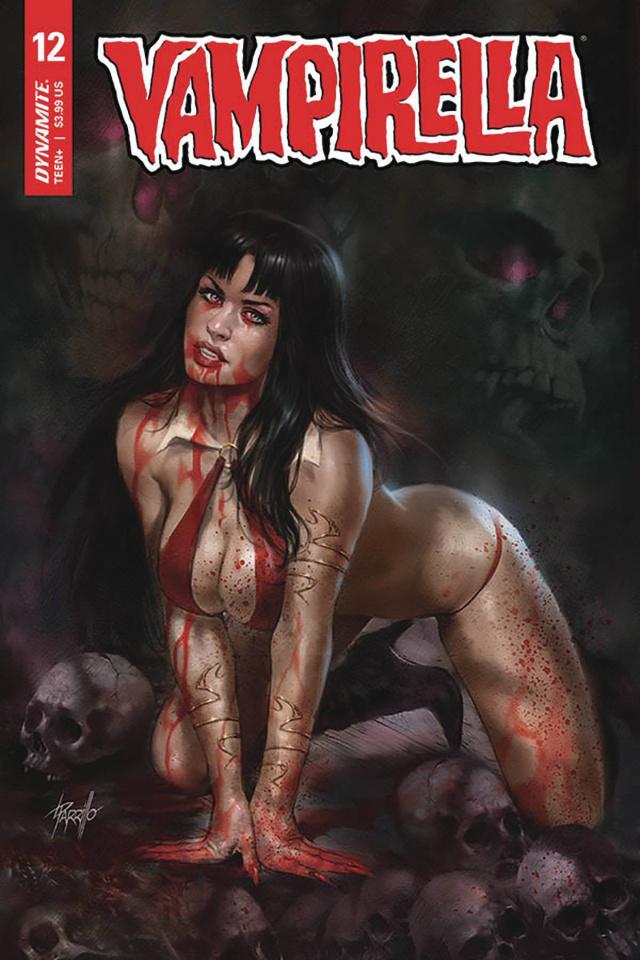 Vampirella #12 (Parrillo Cover)