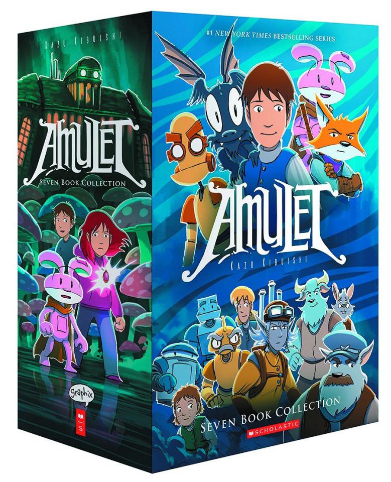 Amulet Vols. 1-7 (Box Set)