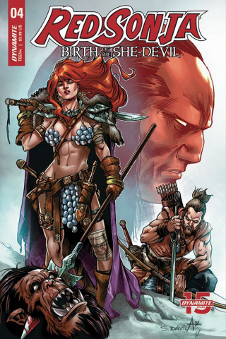 Red Sonja: Birth of the She-Devil #4 (Davila Cover)