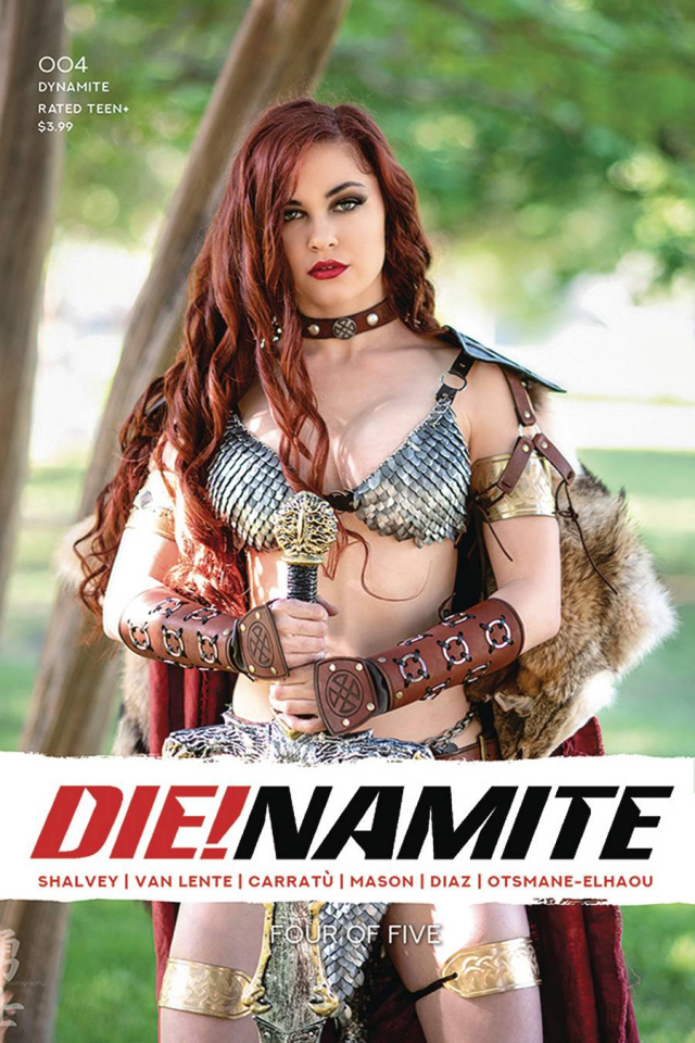 DIE!namite #4 (Polson Cosplay Cover)