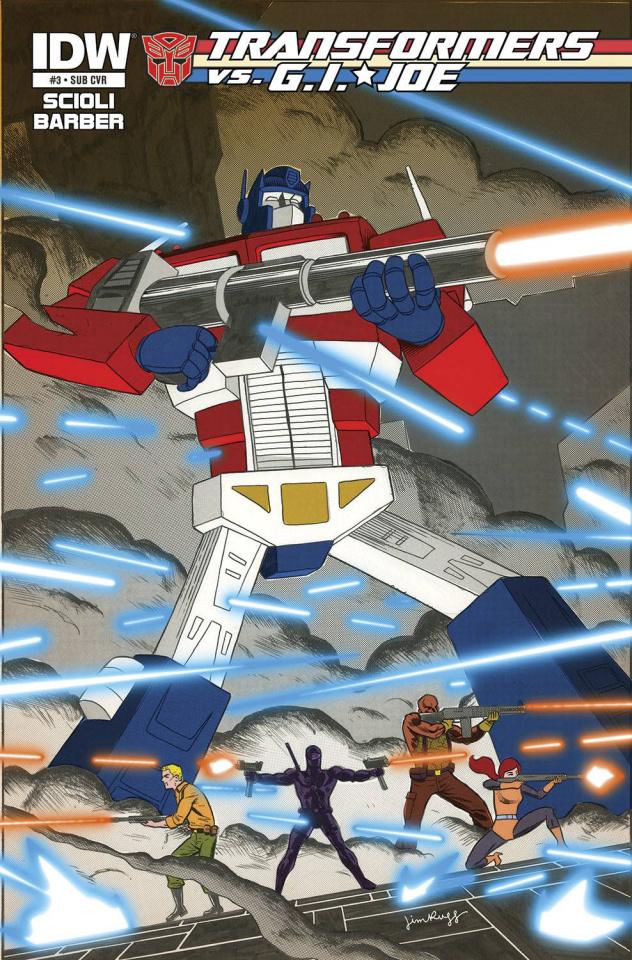 Transformers vs. G.I. Joe #3 (Subscription Cover)
