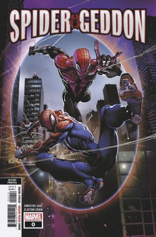 Spider-Geddon #0 (Crain 2nd Printing)