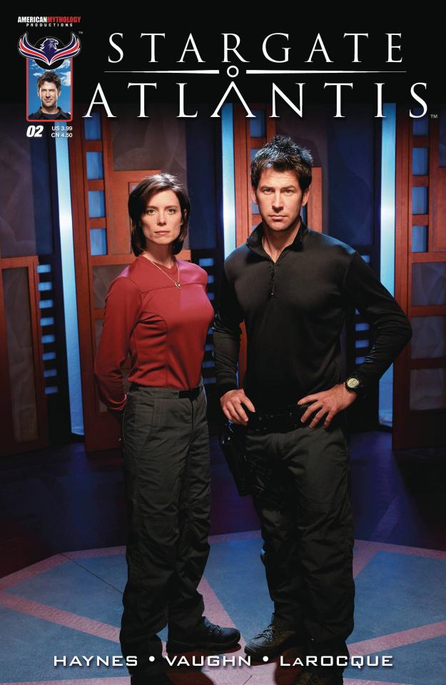 Stargate Atlantis: Back to Pegasus #2 (3 Copy Cover)