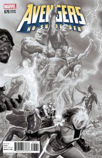 Avengers #675 (Ross Sketch Cover)