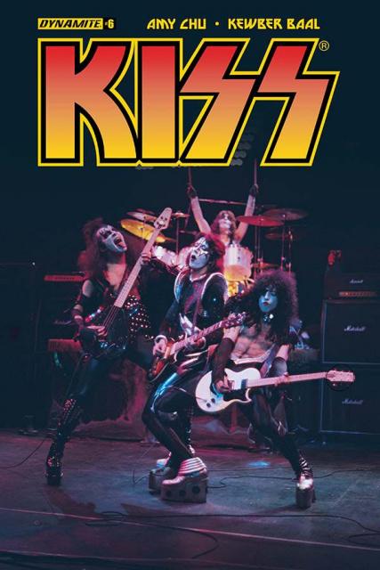 KISS #6 (Photo Cover)