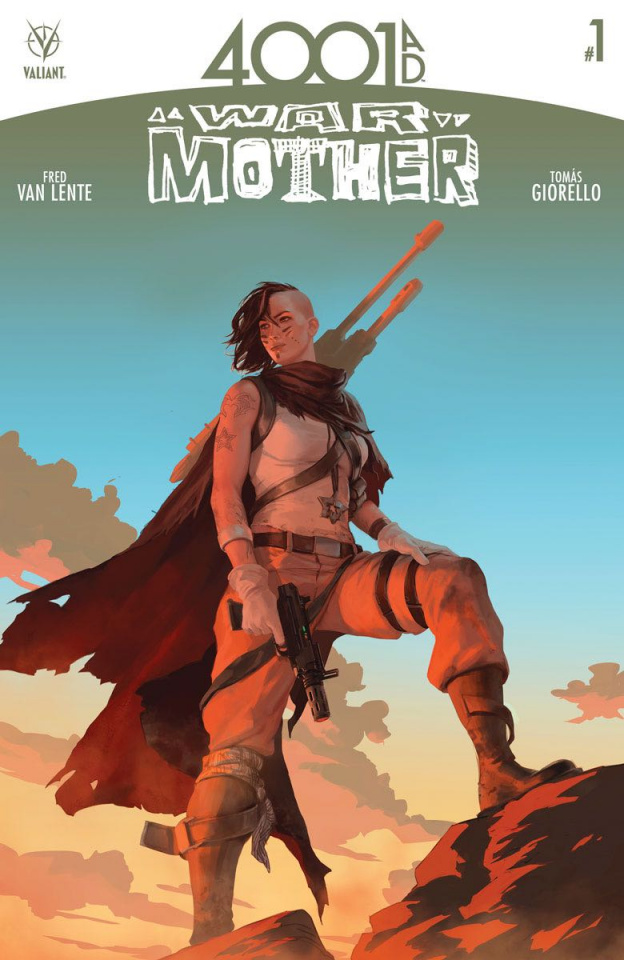 4001 AD: War Mother #1 (Kevic-Djurdjevic Cover)