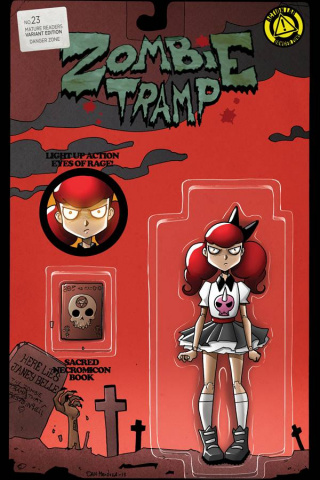 Zombie Tramp #23 (Action Figure Cover)