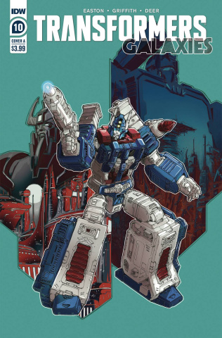 Transformers: Galaxies #10 (Griffith Cover)