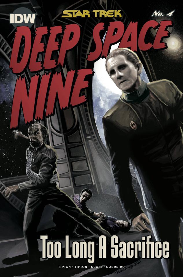 Star Trek: Deep Space Nine - Too Long A Sacrifice #4 (10 Copy Woodward Cover)
