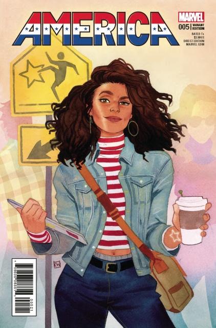 America #5 (Wada Cover)